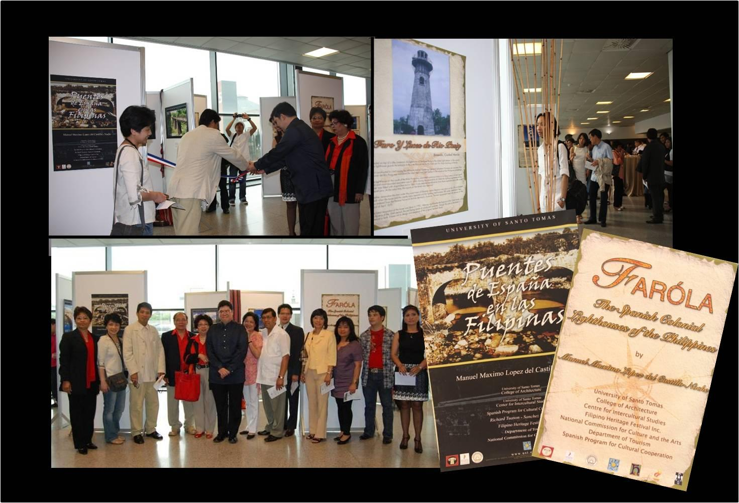 Exhibition Booth In Spanish : Spanish colonial bridges and lighthouses ang bagong filipino