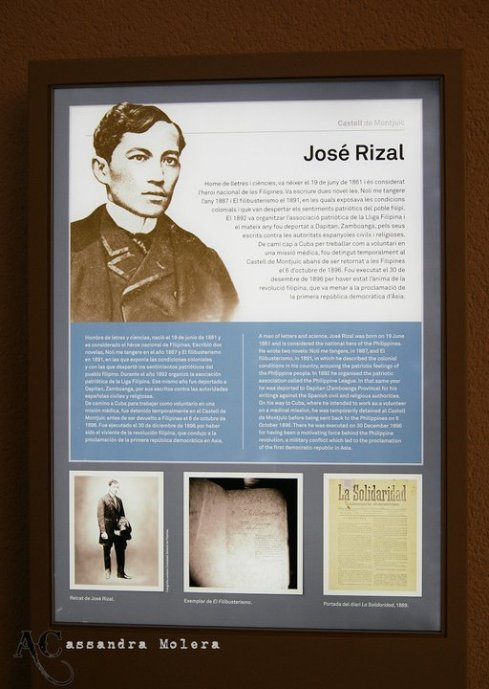 travels of dr jose rizal Three days later, rizal was christened with the name jose protasio rizal-mercado y alonso-realonda 1870 rizal began school under the instruction of justiniano aquino cruz at just nine years of age.