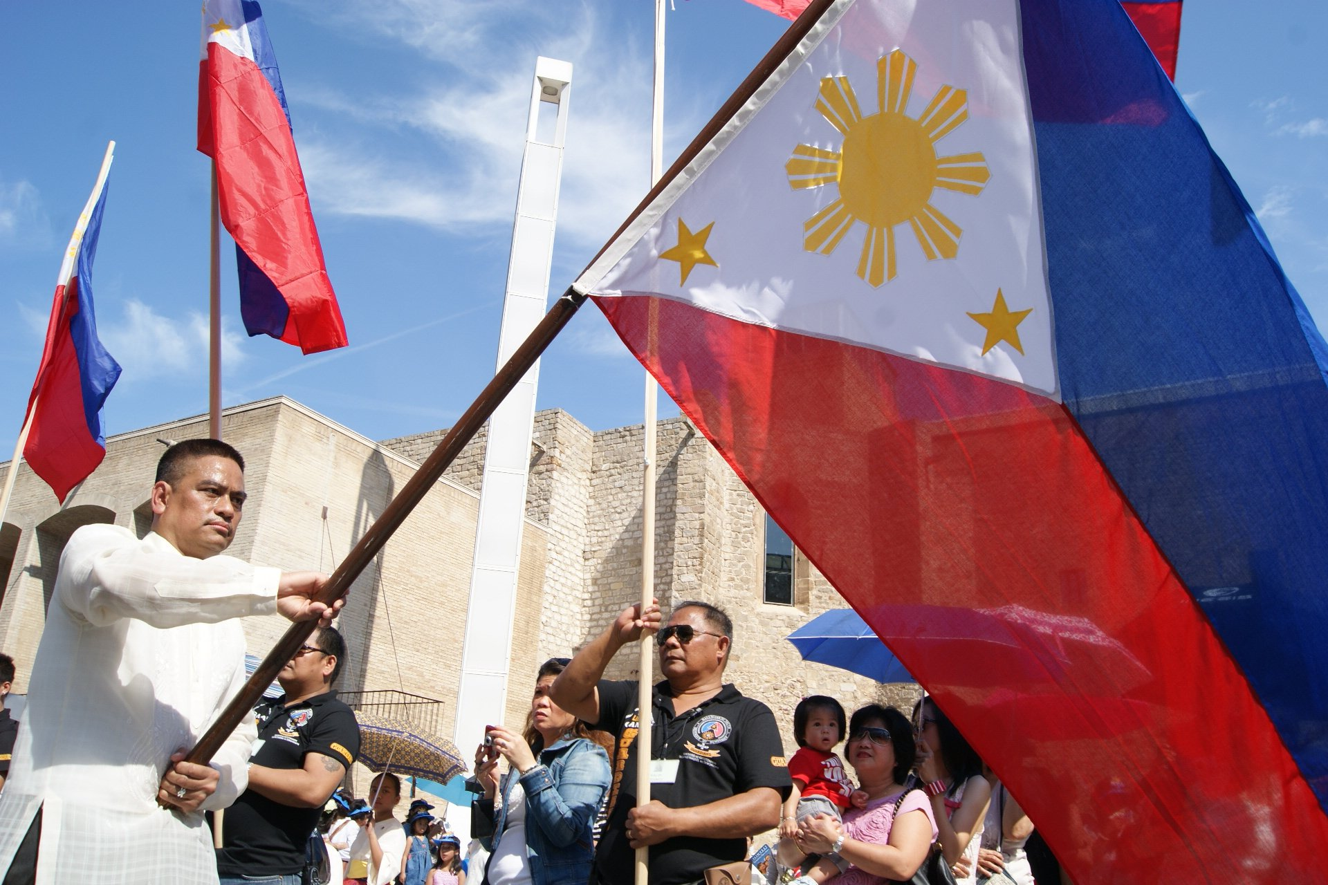 Parada ng watawat ng Pilipinas
